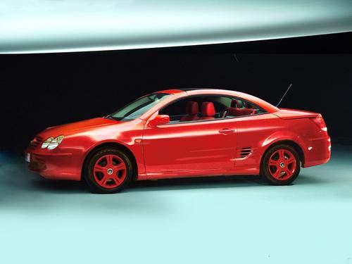 比亚迪敞篷跑车F8年底上市 预计售20万元高清图片