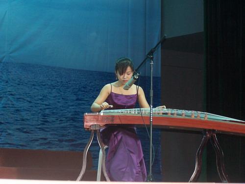 古筝表演《康定情歌》