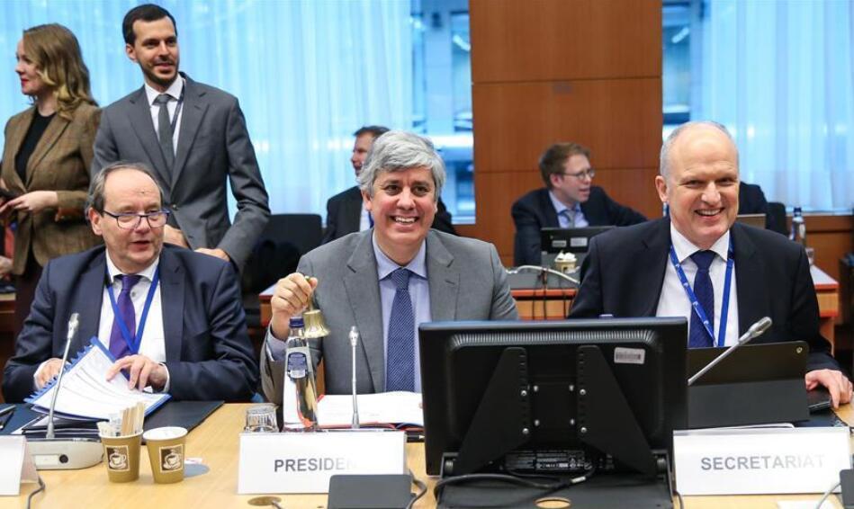 歐元集團會議在布魯塞爾舉行