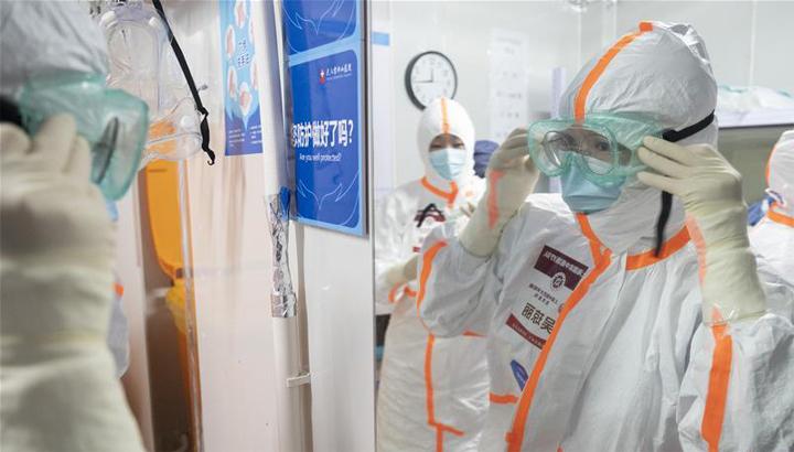 武汉雷神山病院:第四批国家中医医疗队(上海)最后一班岗