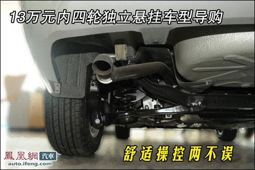 独立悬挂系统是每一侧的车轮都单独地通过弹性悬挂系统悬高清图片