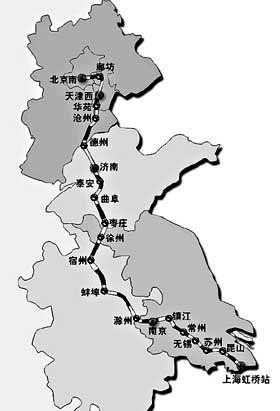 京沪铁路:全国客货运量最繁忙的线路之一