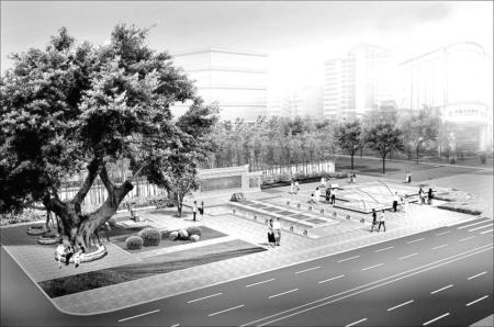 鼓楼遗址公园效果图-鼓楼遗址公园国庆前开放 三大看点引人注目
