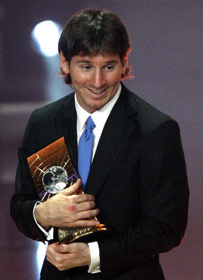 梅西/梅西当选世界足球先生