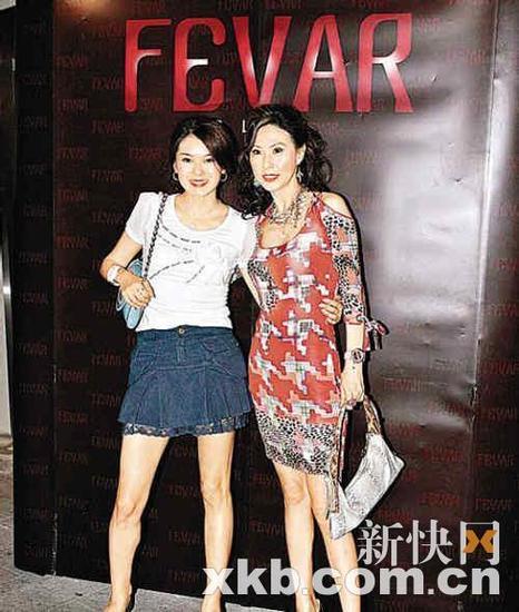 唐贝诗与寇鸿萍-2010年度港姐 新闻热词图片