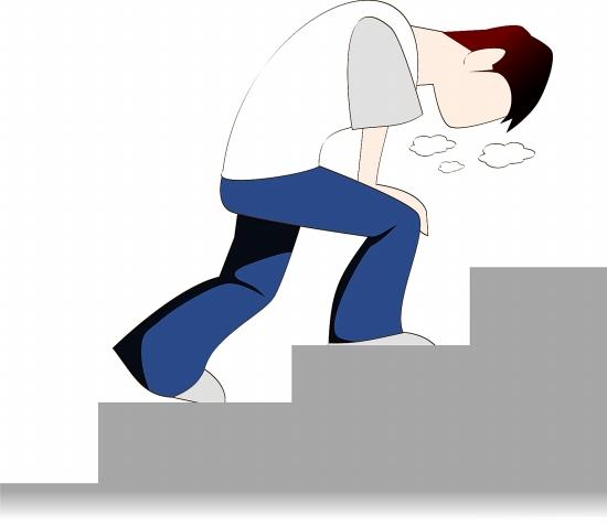 走楼梯被传染