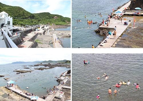 龙洞四季湾 海水游泳池乐趣多