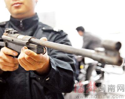 弹簧玩具枪结构图
