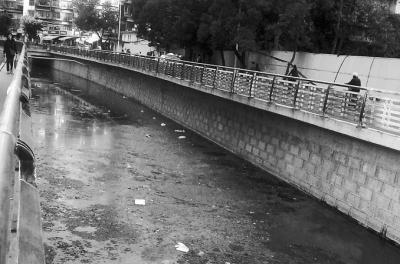 然而,近段时间,该河河面却漂浮着大量黑色的絮状物,并发出阵阵的恶臭