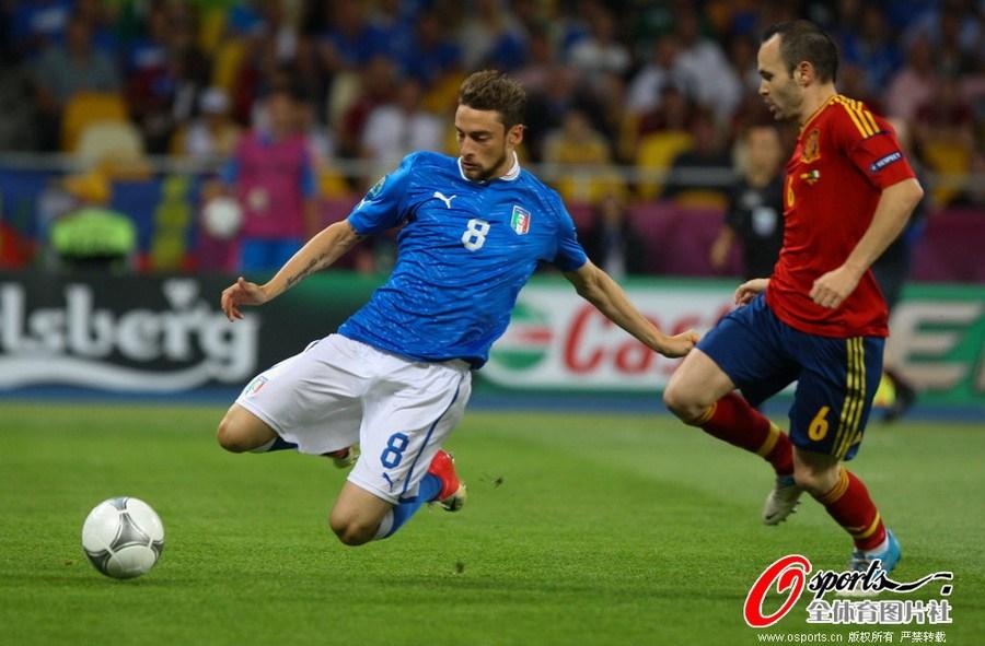 2012年欧洲杯决赛:西班牙4-0意大利图片