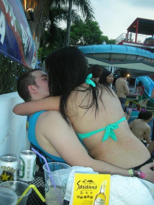 台湾美女教你如何kiss