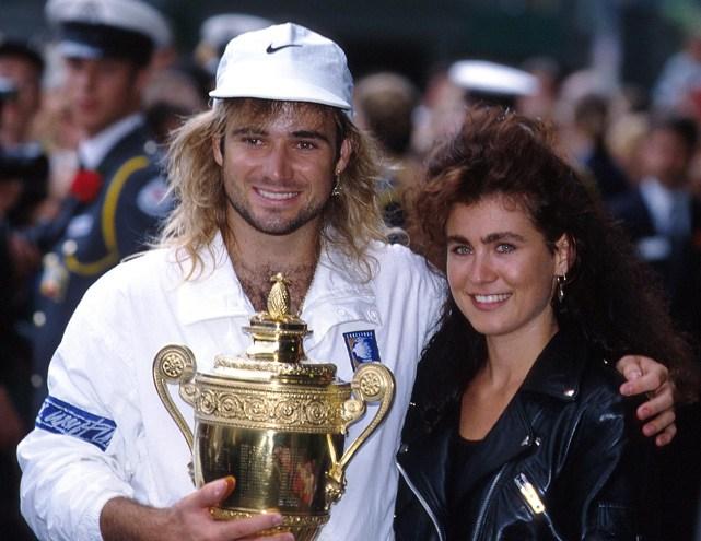 90年代的运动员情侣照
