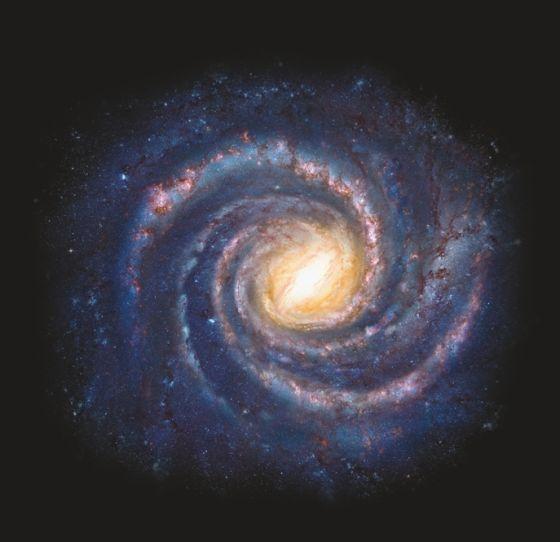 简单手绘宇宙黑洞