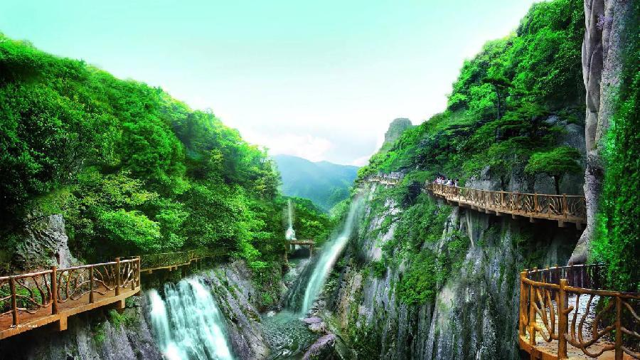 云顶风景区位于福建永泰青云山顶