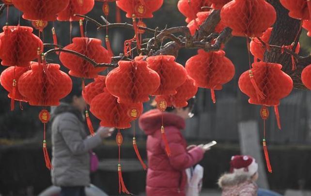(社会)(1)北京:年味渐浓