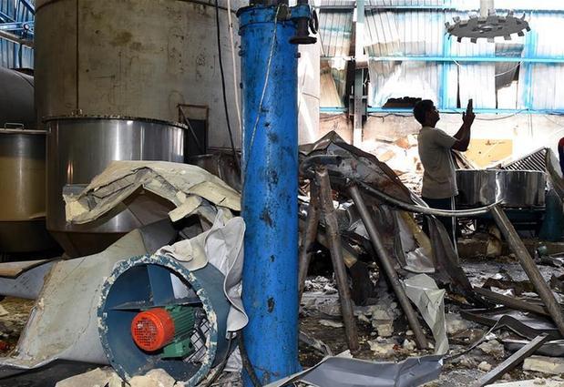 (国际)(1)印度一工厂爆炸造成两名中国公民死亡
