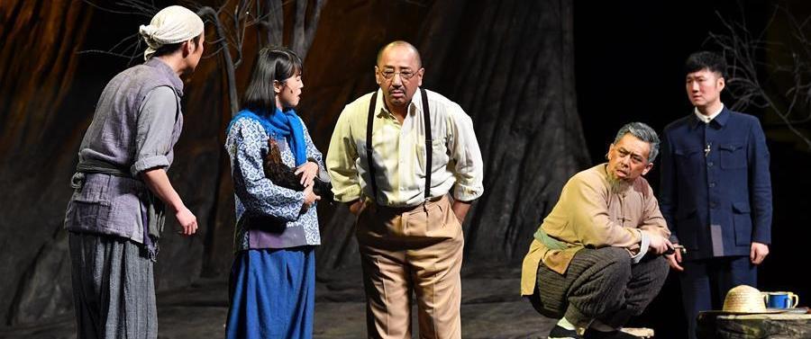 (文化)(3)话剧《柳青》将开启全国巡演