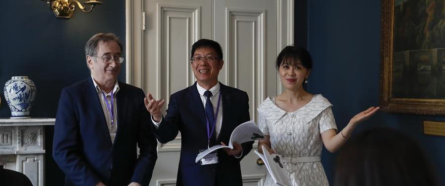"""(新华视界)(5)""""森林与音乐""""第五届剑桥徐志摩诗歌艺术节开幕"""