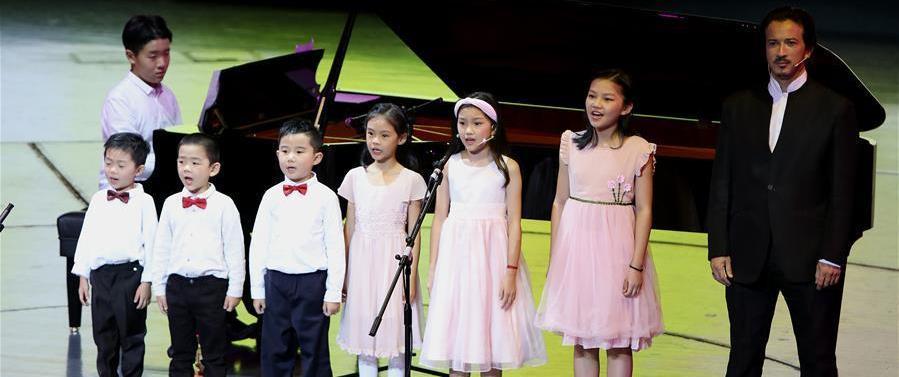 (新华视界)(4)上海国际少儿艺术大典在沪举行