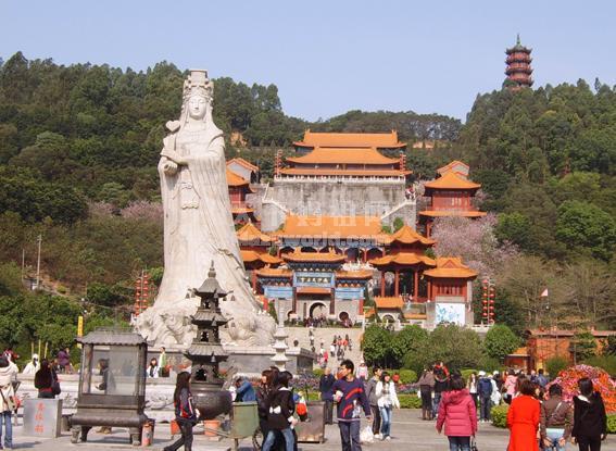 广州南沙天后宫简介高清图片