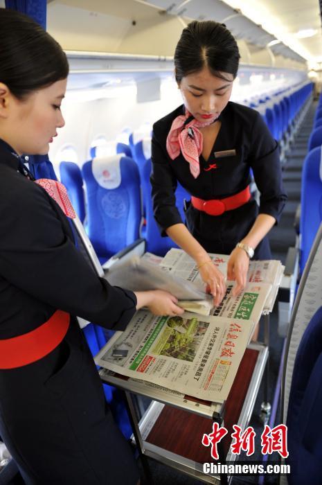探秘美丽空姐航班起飞前的准备工作